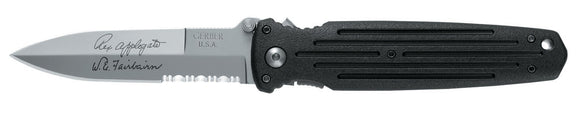 GERBER G5780 APPLEGATE DOUBLE BEVEL COMBAT FOLDING KNIFE