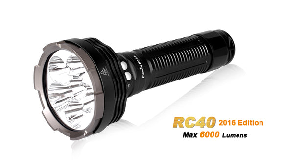 FENIX RC40 2016 RECHARGEABLE 6000 LUMEN FLASHLIGHT