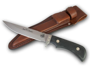 KNIVES OF ALASKA 00849FG boar hunter SUREGRIP FIXED BLADE KNIFE WITH SHEATH.