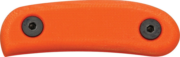 ESEE RAT CUTLERY ESCANHDLOR ORANGE G10 CANDIRU HANDLES ONLY.