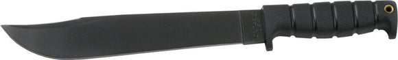 ONTARIO 8320 SP5 SP-5 BOWIE SURVIVAL FIXED BLADE KNIFE WITH NYLON SHEATH.