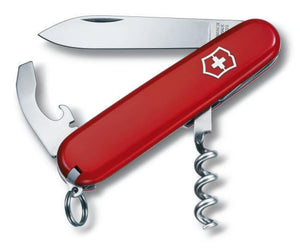 SWISS ARMY VICTORINOX 53891 WAITER RED MULTI FUNCTION POCKET KNIFE.