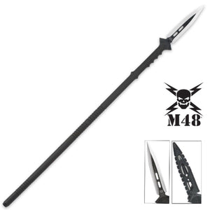 UNITED CUTLER UC2961 UNITED M48 KOMMANDO SURVIVAL SPEAR WITH SHEATH