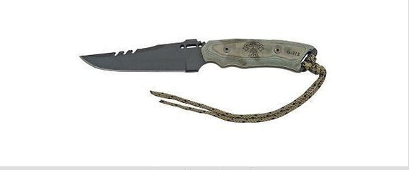 TOPS TPSR77 TOPS STORM RIDER HUNTER'S POINT BLADE FIXED BLADE KNIFE WITH SHEATH