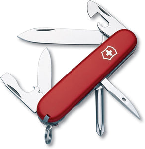 SWISS ARMY VICTORINOX 53101 TINKER RED MULTI FUNCTION POCKET KNIFE.