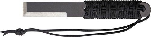 PRO TOOL PT104S 1075 CARBON STEEL COMPACT BREACHER BAR W/PARACORD FX BLADE KNIFE