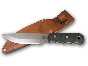 KNIVES OF ALASKA 00014FG BUSH CAMP SUREGRIP BUSH CAMP KNIFE WITH SHEATH
