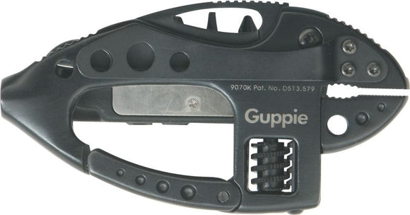 CRKT 9070K I.D. WORKS GUPPIE BLACK MULTI TOOL.