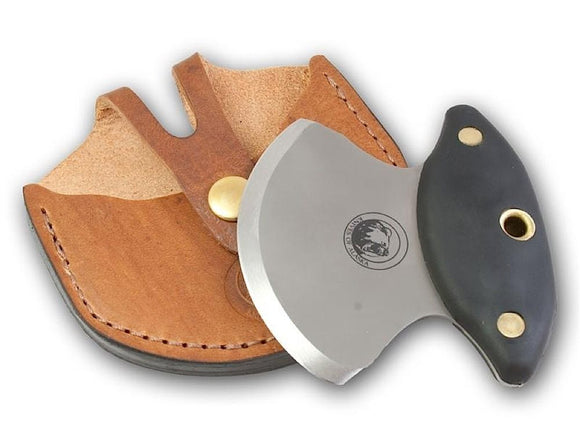 KNIVES OF ALASKA 00122FG MAGNUM ULU SKINNING KNIFE WITH LEATHER SHEATH