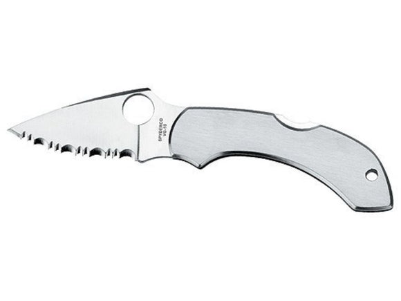 Spyderco c28s dragonfly ss spyder edge folding knife.