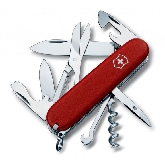 SWISS ARMY VICTORINOX 53381 CLIMBER RED MULTI FUNCTION POCKET KNIFE