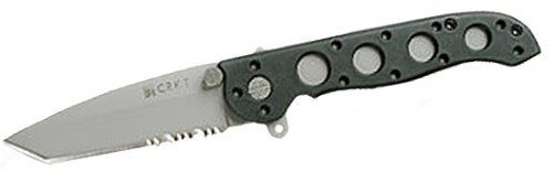 CRKT M16-12Z M16 COMBO EDGE TANTO POINT FOLDING KNIFE.