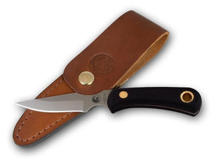 KNIVES OF ALASKA 00006FG CUB BEAR SUREGRIP D2 STEEL KNIFE WITH SHEATH.