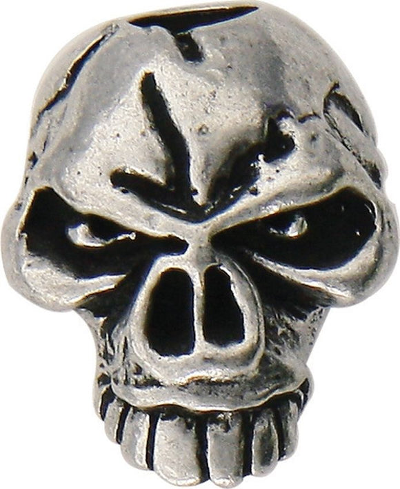 SCHMUCKATELLI CO SMUKEP EMERSON SKULL BEAD PEWTER