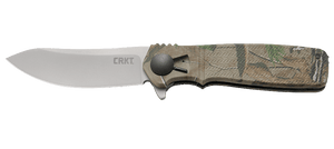 CRKT K265CXP HOMEFRONT HUNT KEN ONION PLAIN EDGE FOLDING KNIFE.