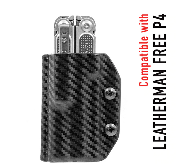 STATGEAR LP4-BLK KYDEX SHEATH FOR LEATHERMAN FREE P4