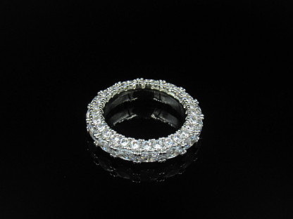 Crystalized Eternity Band