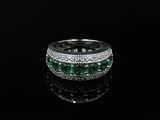 Emerald Eternity Round Cut
