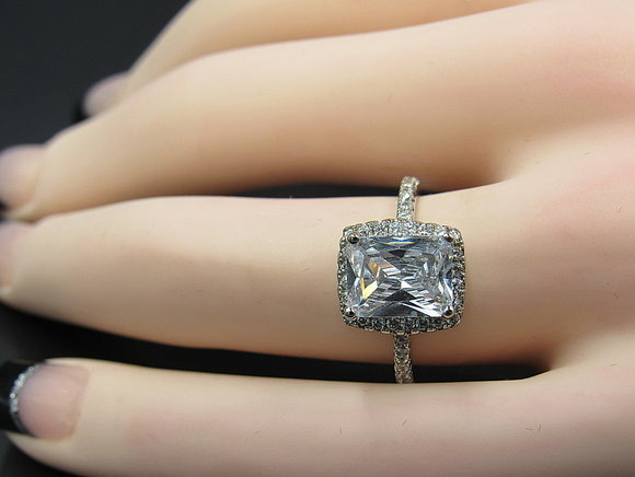 Demure Princess Cut