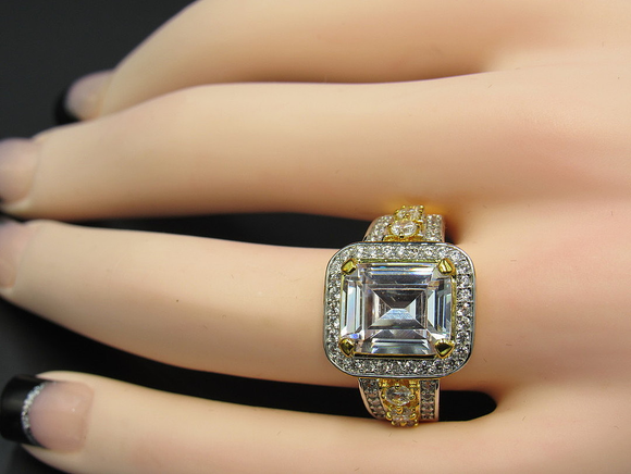 Brilliant Emerald Cut Solitaire