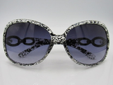 Black and White Fashion Sunglasses