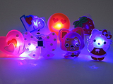 Flashing Jelly Character Rings