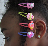 Cutie Character Hair Clamps