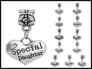 Antique European Silver Charms