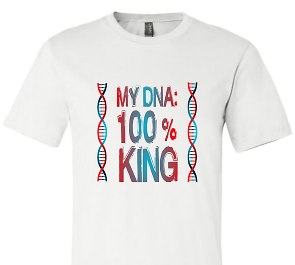 My DNA: 100% King/Queen