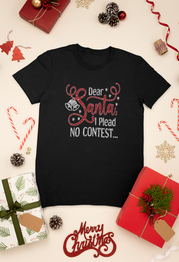 Dear Santa I Plead No Contest