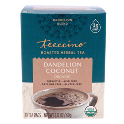 Teeccino - Dandelion Coconut Roasted Herbal Tea