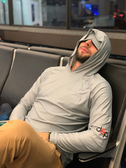 dēp slēpwear - Men's Traveler Sleep Hoodie