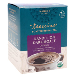 Teeccino - Dandelion Dark Roast Herbal Tea
