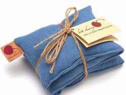 Hot Cherry - Blue Denim Neck Wrap