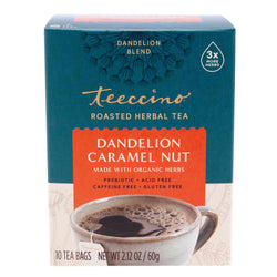 Teeccino - Dandelion Caramel Nut Roasted Herbal Tea