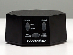 LectroFan Fan Sound and White Noise Sound Machine