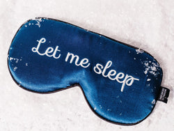 Moonlit Skincare Let Me Sleep Sleeping Eye Mask