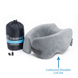Travelrest -  Nest™ Ultimate Memory Foam Travel Pillow
