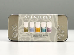 Mindful Minis Tin Balm Sticks - Scentered Aromatherapy