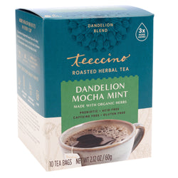 Teeccino - Dandelion Mocha Mint Roasted Herbal Tea