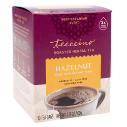 Teeccino - Hazelnut Roasted Herbal Tea