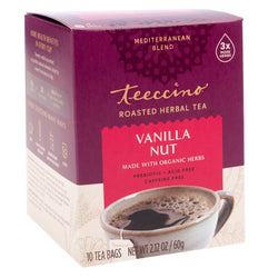 Teeccino - Vanilla Nut Chicory Roasted Herbal Tea