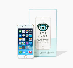 EyeJust - Blue Light Blocking  Screen Protector for iPhone