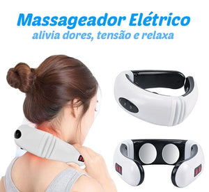 Massageador Elétrico Terapia Cervical