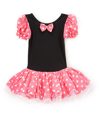 Mini Pink-Black Ballet Dress