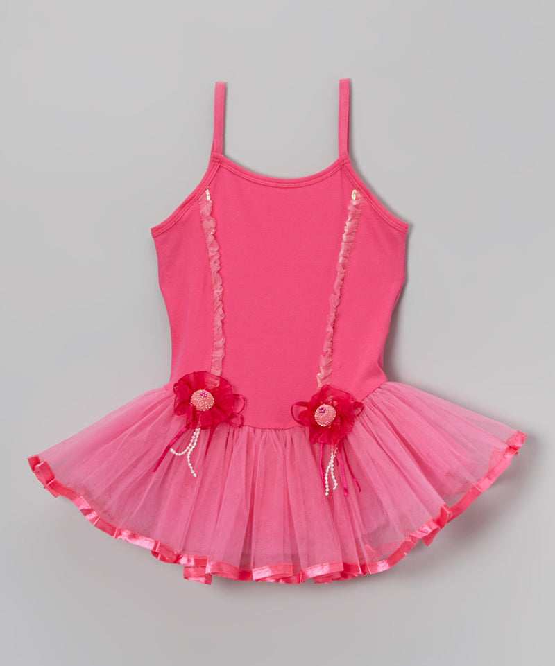 Hot Pink 2 Hat Ballet  Dress
