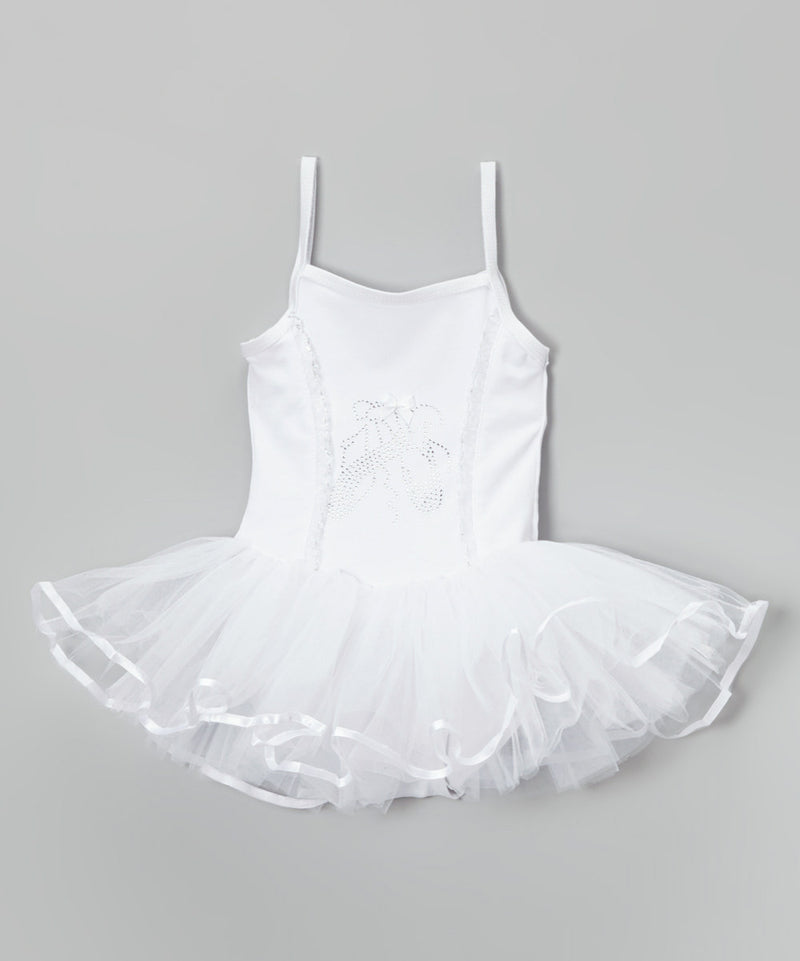 White Ballet Shoe Ballet  Dress