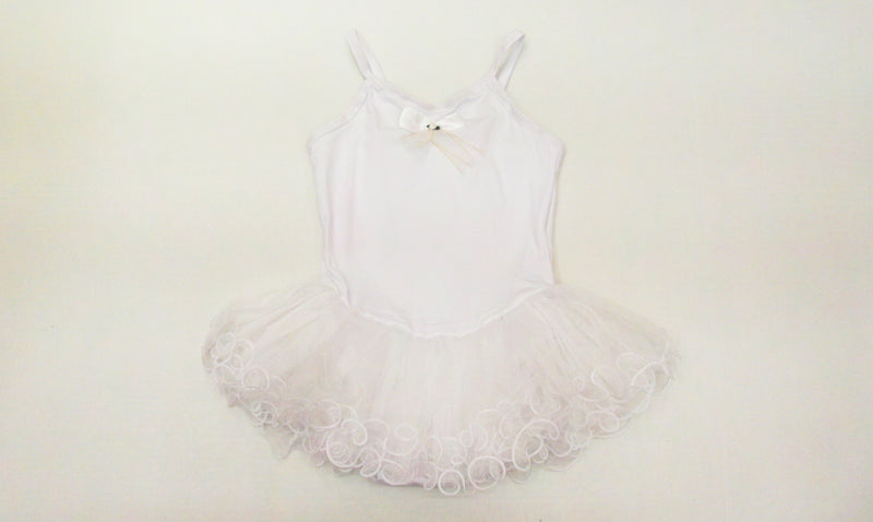 White Wave Ballet Dress