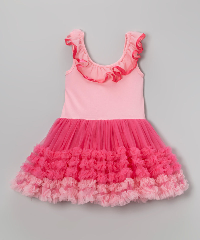 Pink Baby-Doll Dress