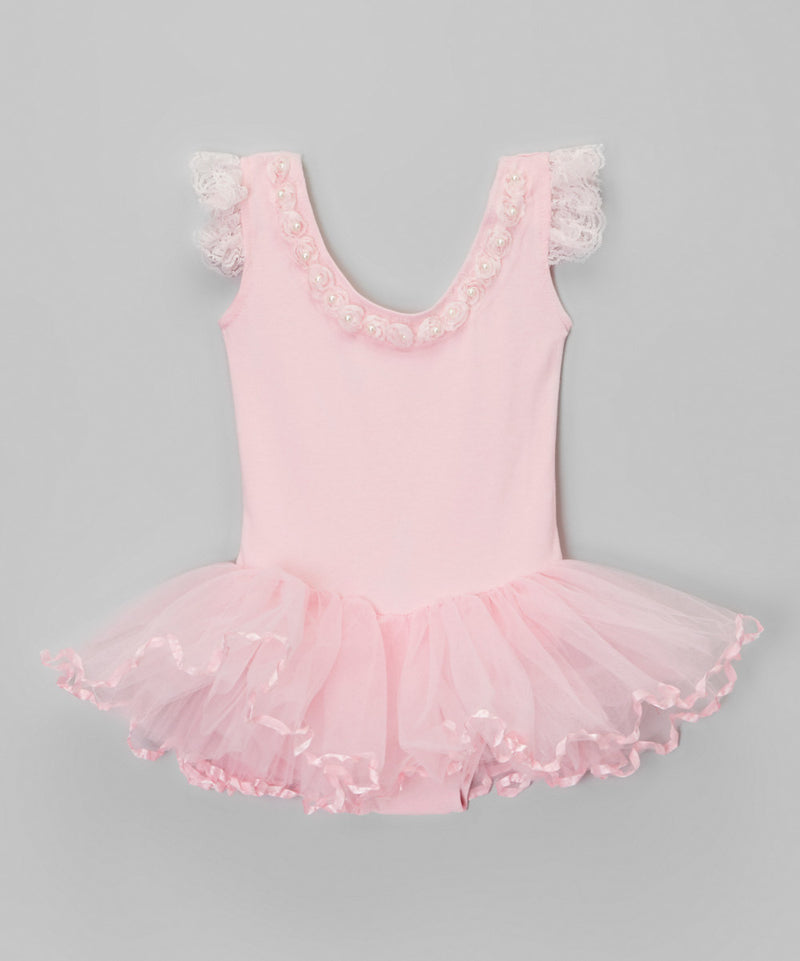 Pink Pearl Ballet Dress